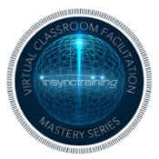 Virtual Classroom Facilitation Mastery Series certificate
