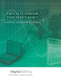 Virtual Classroom Tool Design Basics whitepaper cover