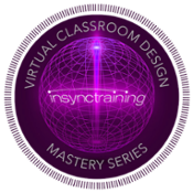 Virtual Classroom Design Mastery Series Badge