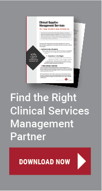 Find the Right Clinical Services Management Partner: Free Tip Sheet Explains the 5 Things to Look For. Download Now