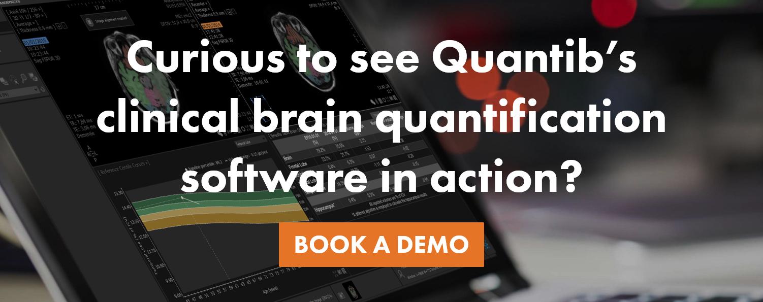 Quantib ND as clinical brain quantification software