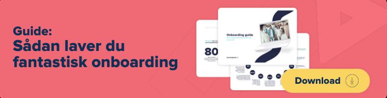Den store onboarding-guide - hent e-bogen