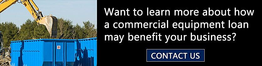 commercial equipment loan to benefit business