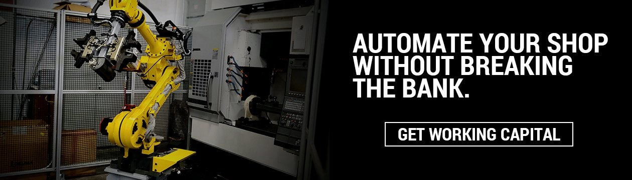 Automate your shop with a working capital loan
