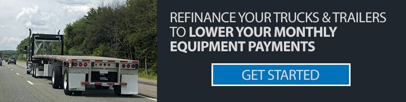 refinance trucks to lower monthly payments