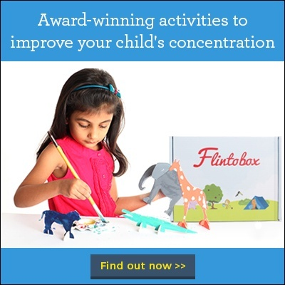 Increase concentration in your child with Flintobox