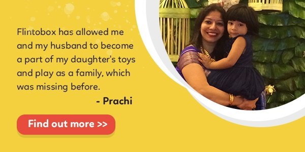 How Flintobox has helped engage Prachi's child