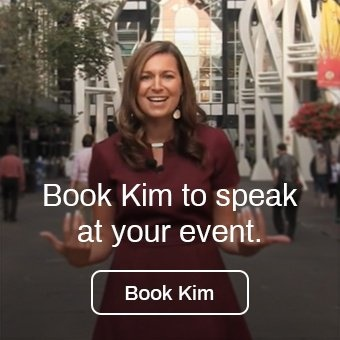Book Kim to speak at your event