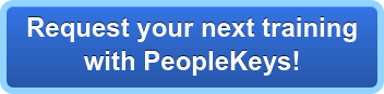 Request your next training  with PeopleKeys!