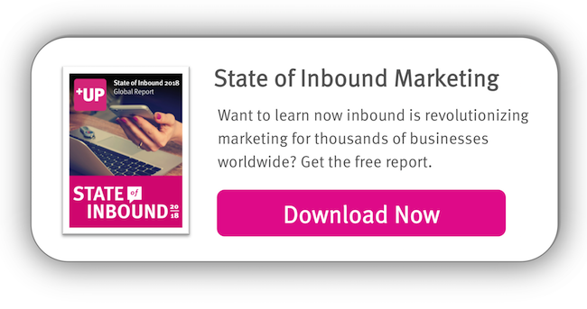 Get the 2018 State of Inbound Report
