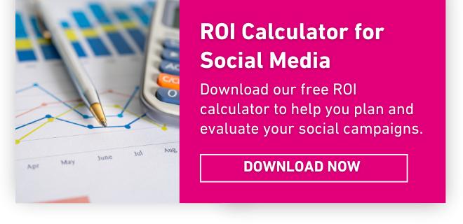 Free social Media ROI calculator spreadsheet