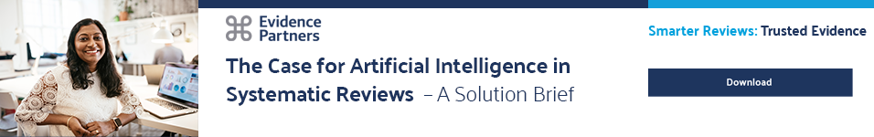 The Case for Artificial Intelligence in Systematic Reviews - A Solution Brief