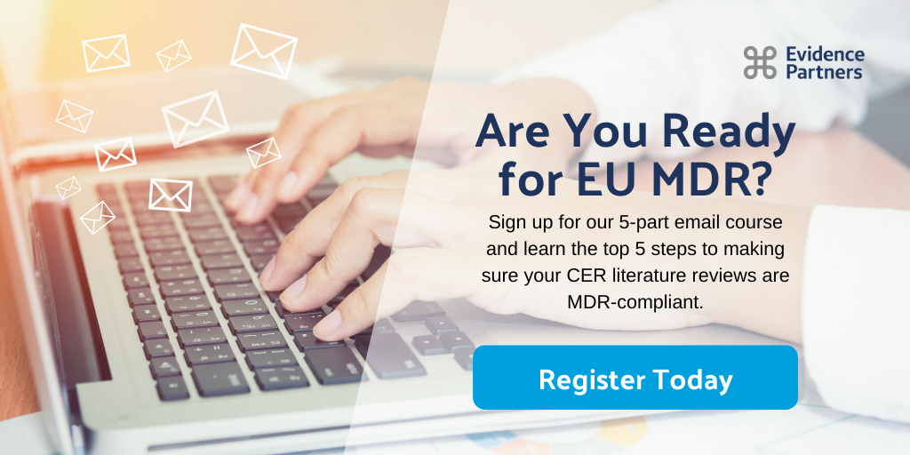 Register for MDR-Ready CER Lit Reviews in 5 Steps