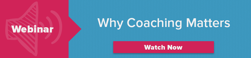 Why Coaching Matters