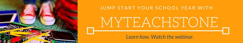 Jump start your school year with myteachstone