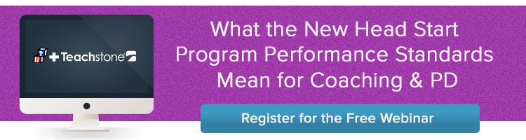 Register for the Head Start Peformance Standards Webinar