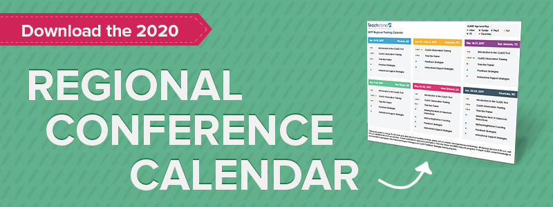 Download Teachstone's 2016 Regional Training Calendar