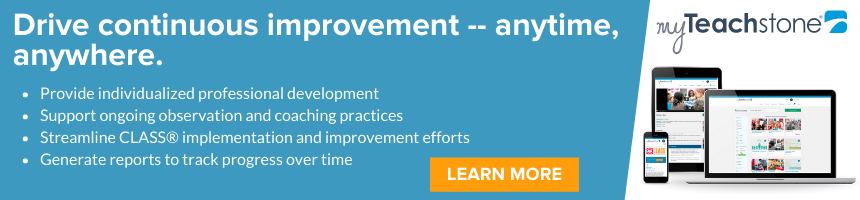 Drive continuous improvement -- anytime, anywhere with myTeachstone