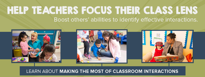Make a difference with Making the Most of Classroom Interactions (MMCI)
