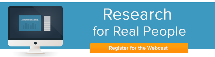 Register for the Research for Real People Webinar