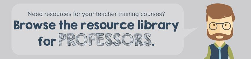 Resources for professors