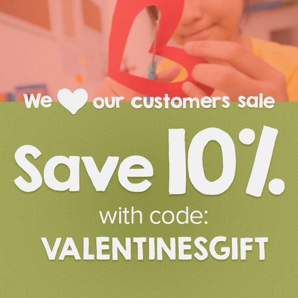 Teachstone Valentine's Day Sale