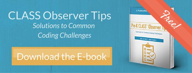 Pre-K CLASS Observer Tips