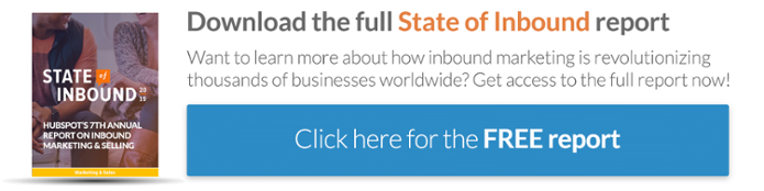Download the full State of Inbound report