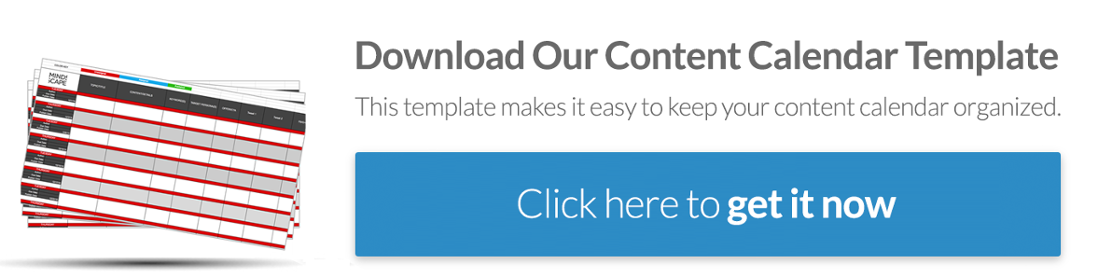Content Calendar Template: Download Here
