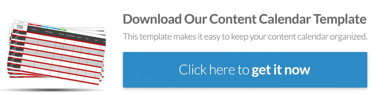 Content Calendar Template: Download Here