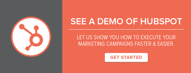 See A Demo Of HubSpot