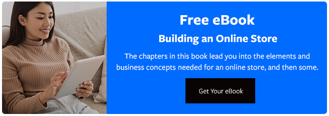 "Download our ""Building an Online Store"" Free eBook"