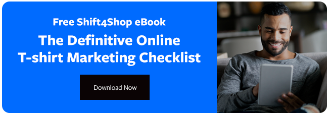 Online T-shirt Marketing Checklist