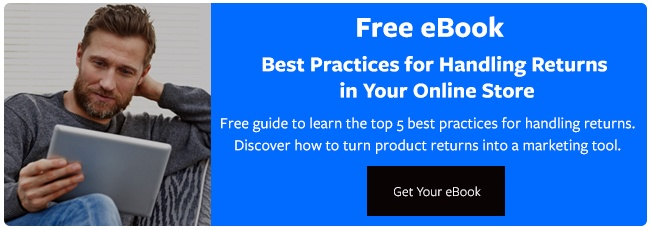 "Free Guide""Best Practices for Handling Returns"""