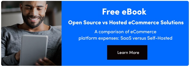 SaaS vs Open-source ecommerce