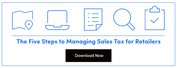 Managing Sales Tax for Retailers