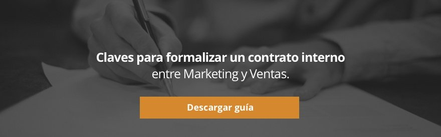 Descargar guía sobre las claves para formalizar un contrato interno entre marketing y ventas