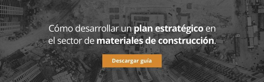 Cómo desarrollar un plan estratégico en el sector de materiales de construcción