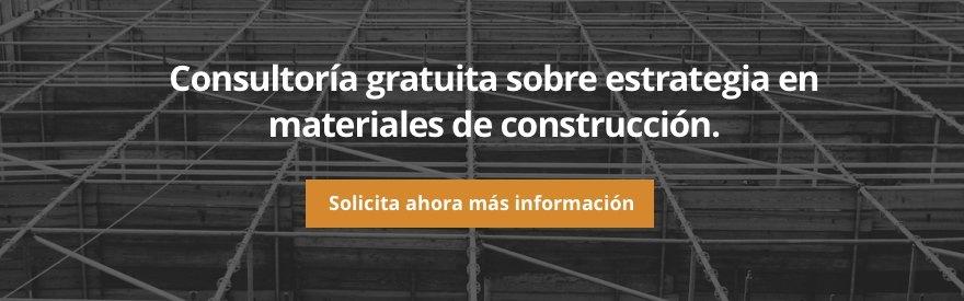 Consultoría gratuita sobre estrategia en materiales de construcción