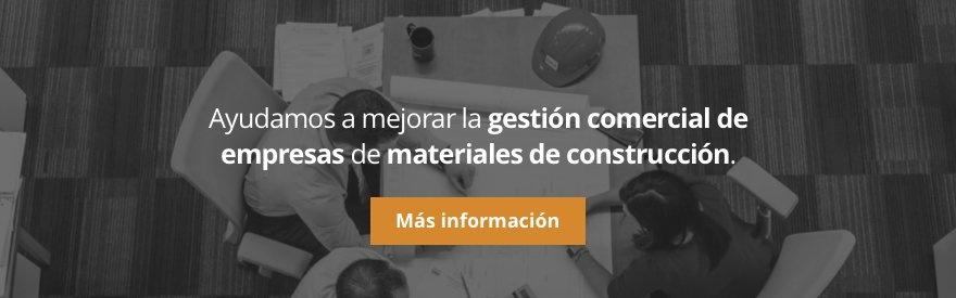 Gestión comercial en el sector de materiales de construcción