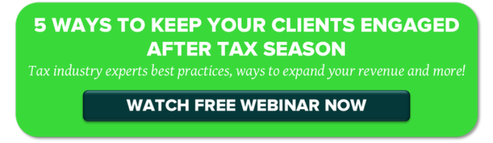 Free webinar for tax pros