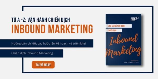 Vận hành chiến dịch Inbound Marketing