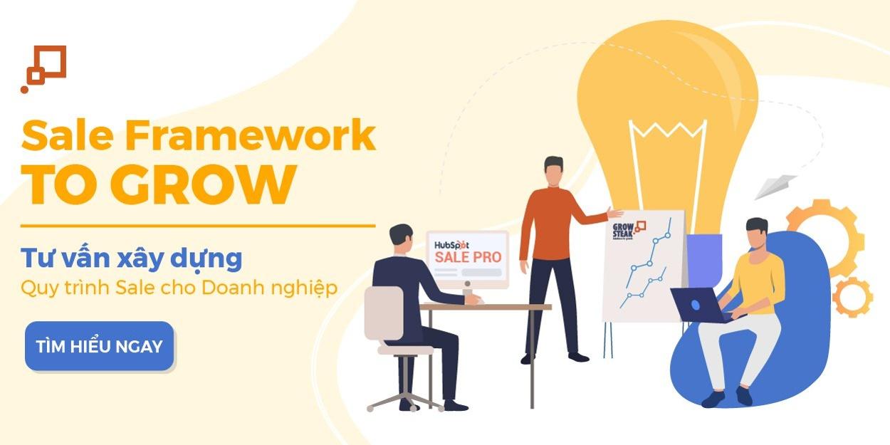 Sale Framework To Grow