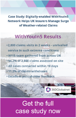 WithYouIn5 case study: digital-enabled insurance claim assessment network