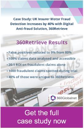 Digital insurance fraud detection solution 360Retrieve