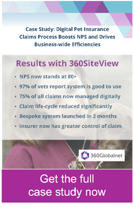 Pet insurance case study: digital insurance claims processes