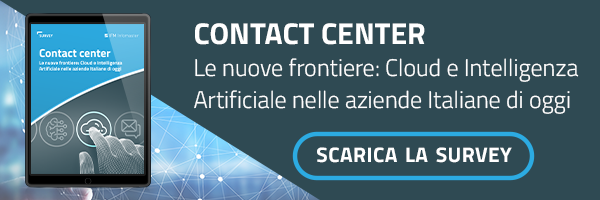 Contact Center Le nuove frontiere: Cloud e Intelligenza Artificiale nelle aziende Italiane di oggi