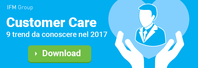 Customer Care 9 trend 2017 Infografica