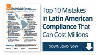 Learn how to avoid compliance errors across Latin America