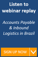 Accounts Payable & Inbound Logistics in Brazil